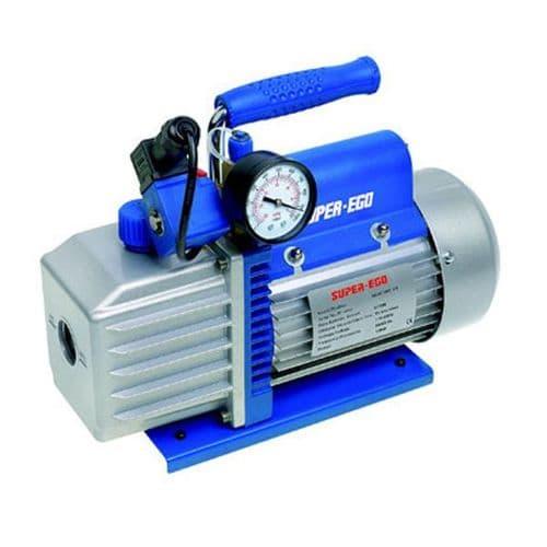 Super Ego Vacuum Pump Dual Voltage 1.5 CFM 110V/240V~50Hz