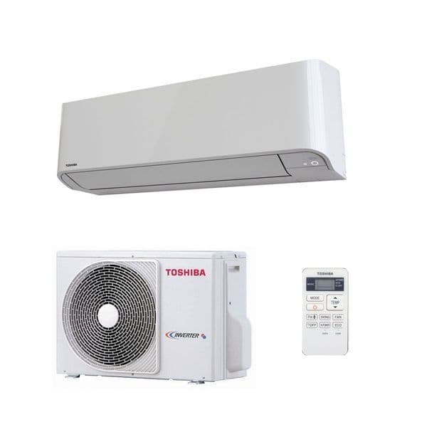 Toshiba Air Conditioning Heat Pump Quiet Wall SEIYA RAS-B05J2KVG-E 1.5Kw/5000Btu R32 Install Pack