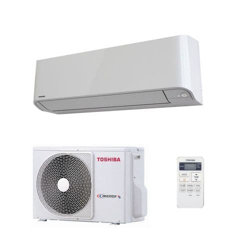 Toshiba Air Conditioning Heat Pump Quiet Wall SEIYA RAS-B10J2AVG-E 2.5Kw/10000Btu Install kit