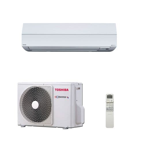 Toshiba Air Conditioning Wall Mounted Digital Heat Pump Inverter RAV-SM307KRTP-E 2.5Kw/9000Btu A+ 240V~50Hz