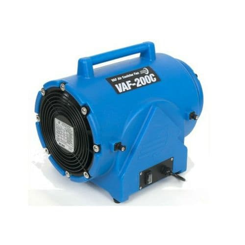 "VAF-200C VAF-0200111 Canister Heavy Duty Miniveyor Air Mover 200mm 8"" 1350 m3 / Hr 110V~50Hz"