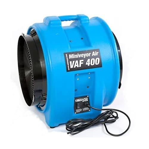 """VAF-400 VAF-0400110 Heavy Duty Miniveyor Air Mover 400mm 16"""" 7500 m3 / Hr 110v~50Hz"""