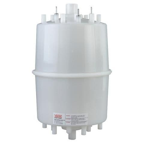 Vapac PCD4H-6WB 55mm Outlet 400L Elect Disposable Steam Cylinder For Medium Conductivity Water