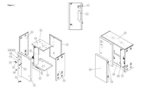 Vapac Spare Part 630LE Control PCB Electronic Boiler Control PCB + A/S Kit