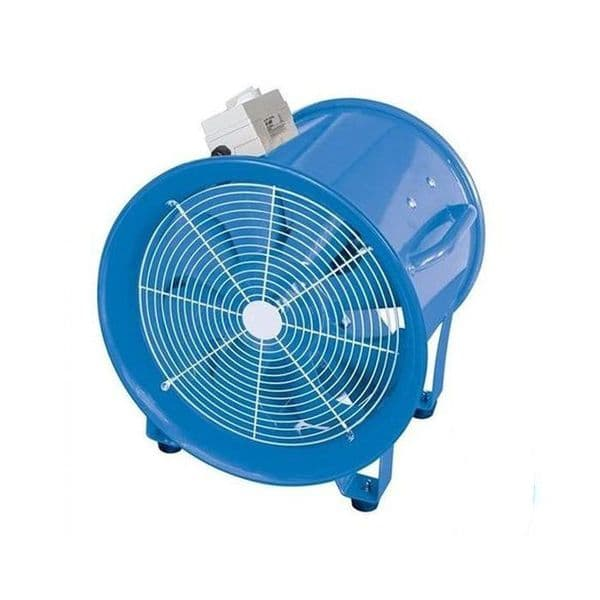VF250 Dust And Fume Extractor Fan 250mm 2580m3/hr Dual Voltage 110V/240V~50Hz