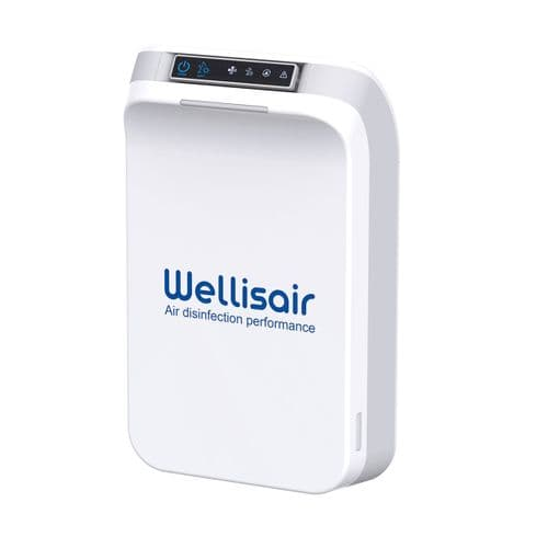 Wellisair Air and Surface Disinfection Purifier 60M2 110-240~50/60Hz