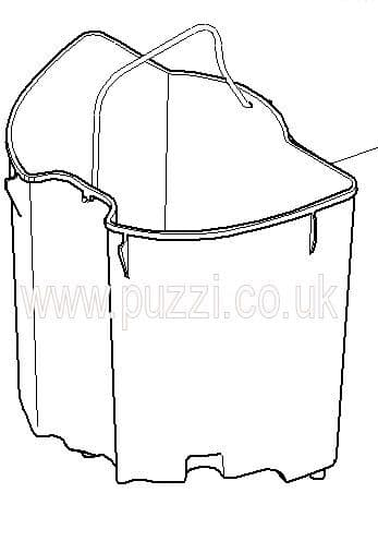 Karcher Puzzi 8/1c Waste Water Bucket