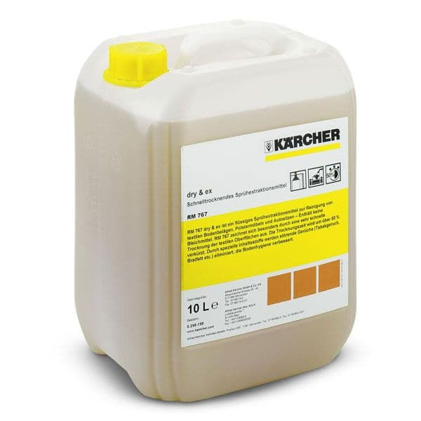 Karcher RM767 dry & ex Fast drying detergant fro all carpet typse