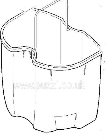 Waste Water Bucket - puzzi 100/200 & puzzi 10/2, 10/2