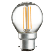 4w BC LED Golf Ball Clear - 420 lumens - PACK OF 10