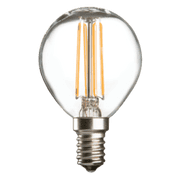 4w SES LED Golf Ball Clear - 400 lumens - PACK OF 10