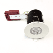 Evolve fire rated downlight - mains voltage (available in 7 finishes)