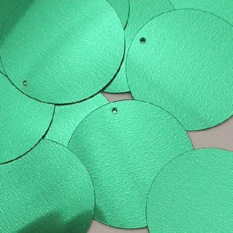 Value Pack 25mm Metallic Green Penny  x 500