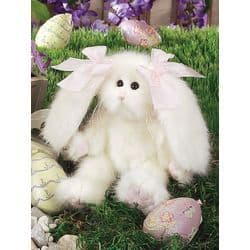 Bearington Bear Bunny Collection PUFF White Rabbit Plush Soft Toy Animal 4507