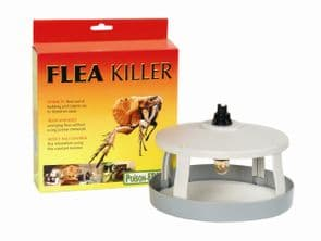 Electronic Flea Killer Light - Chemical & Poison Free Lamp For Pet Owners, Cats & Dogs STV020,