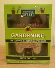 Gardening Gift Set Give it a Go Gardening Gift Set includes Book,Plant Pots, Wooden Markers Garden