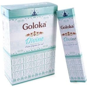 Incense Sticks Goloka Nag Champa Arabatti Divine Hand Rolled Masala Incense Sticks 15g box