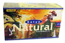 Incense Sticks Satya Nag Champa Natural Agarbatti Hand Rolled Masala Incense Sticks 15g box