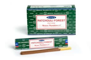 Incense Sticks Satya Nag Champa Patchouli Hand Rolled Masala Incense Sticks 15g x 1 box