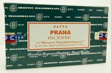 Incense Sticks Satya Nag Champa Prana Hand Rolled Masala Incense Sticks 15g box