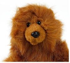 RUSS Berrie and Co Animal Collection GRIZZ Brown Grizzly Bear Soft Stuffed Plush Toy