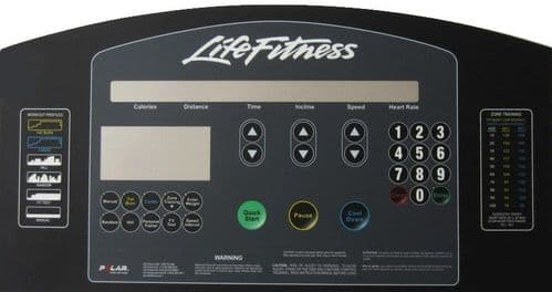 Life Fitness overlay - Integrity style