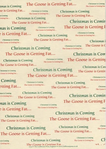 A4 Crafthouse Press Christmas is Coming