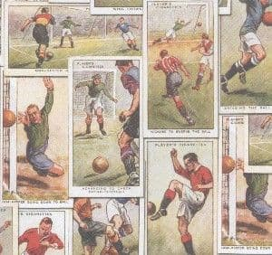 A4 Crafthouse Press Vintage Footballers