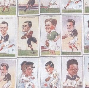 A4 Crafthouse Press Vintage Rugby Players