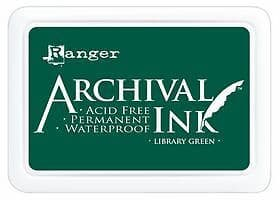 Archival Ink Pad Library Green Standard