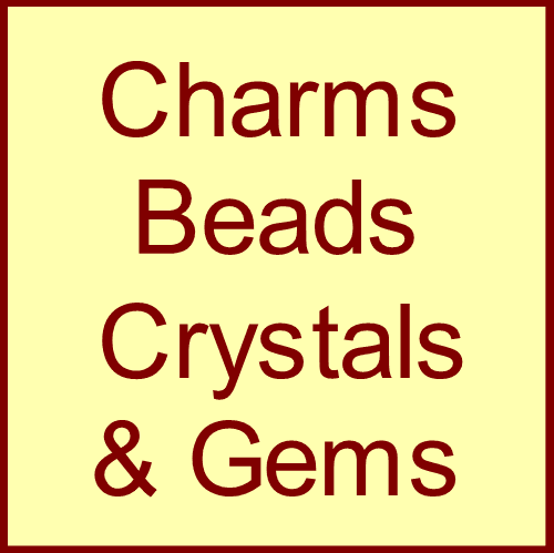 Charms, Beads, Crystals & Gems