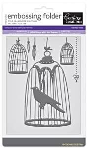 Couture Creations Embossing Folder Royal