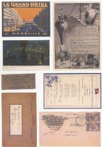 Crafthouse Press Grand Hotel Collage sheet