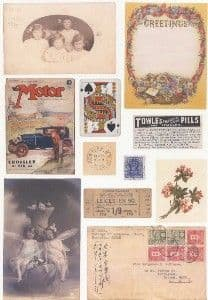 Crafthouse Press The Motor Collage Sheet
