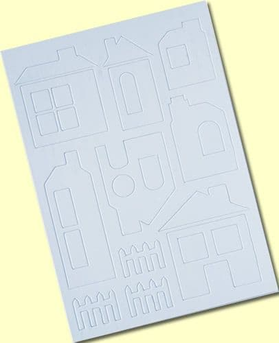 Crafty Individuals Chipboard Houses