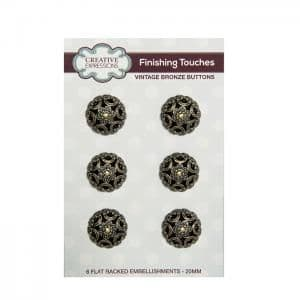 Creative Expressions Vintage Buttons Bronze