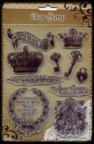 Exchangeable Clear Stamp Set Courage