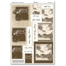 Hunkydory Die-Cut Pyramount Sheet All Dressed Up