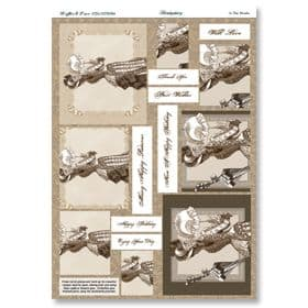 Hunkydory Die-Cut Pyramount Sheet In the Shade
