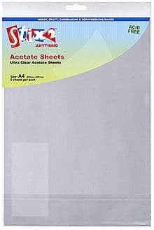 Stix-2 A4 Clear Project Acetate Sheets