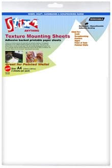 Stix-2 A4 Textured Mounting Sheets