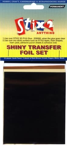 Stix-2 Shiny Transfer Foil Earthtones