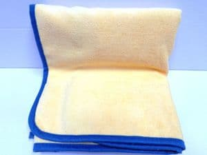 1 X Extra Large Drying Towels Xl Size 101 X 61cm To Remove Water From Vehicle Paintwork Quickly