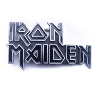Iron Maiden 'Logo' Belt Buckle