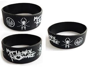 My Chemical Romance Silicone Rubber Wrist Band