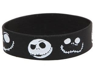 Nightmare Before Christmas Jack Silicone Rubber Wrist Band