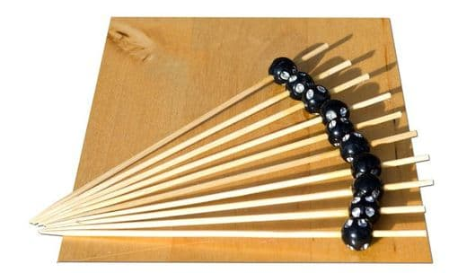 After Dark bead wood skewer 12cm x100  GOTO