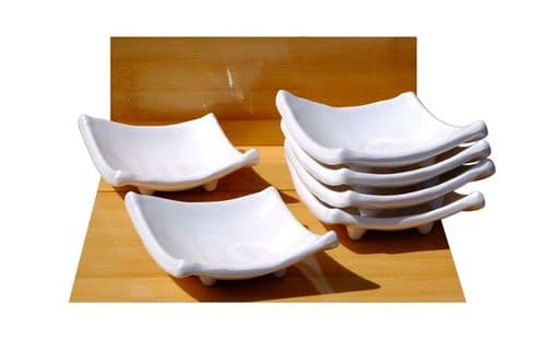 White diamond melamine dishes X6 Melamine plastic