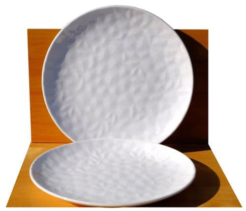 Arctic Shimmer Textured Oriental Side Plates x2 – 18.5cm