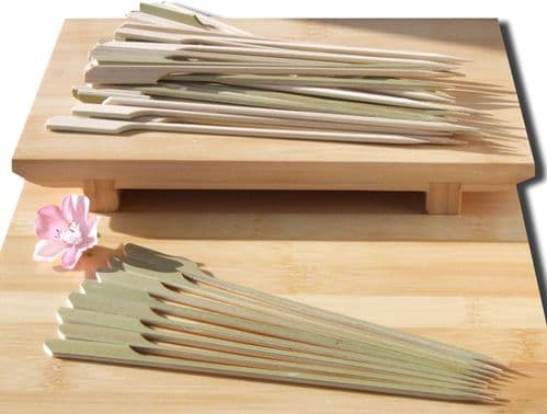 Cocktail & cooking Paddle skewer bamboo 18cm X 500 Japanese style - GOTO
